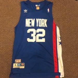 Dr J NY Nets Adidas Hardwood Classic Jersey